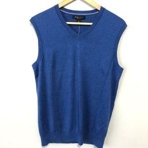 Banana Republic blue luxury blend sweater vest